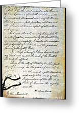 Emancipation Proc., P. 4 Greeting Card by Granger