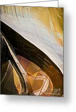 Emp Curves Greeting Card by Chris Dutton
