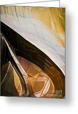 Emp Curves Greeting Card by Chris Dutton