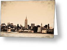 Empire State Building Greeting Card by Bill Cannon