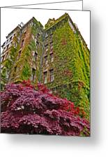 Empress Hotel - Victoria Canada - 02  Greeting Card by Gregory Dyer