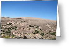 Enchanted Rock Greeting Card by Barry Moore