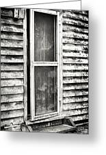 Enter Through The Back Door Greeting Card by John Rizzuto