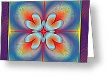 Ephemeral 1 Greeting Card by Walter Oliver Neal