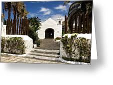 Ermita De San Telmo Greeting Card by Fabrizio Troiani
