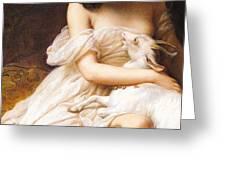 Esmeralda Greeting Card by Charles Auguste Steuben