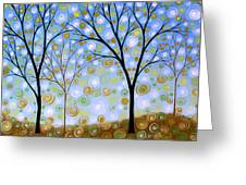 Essence Of The Day Greeting Card by Amy Giacomelli