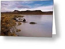 Et Lake II Greeting Card by Kurt Golgart