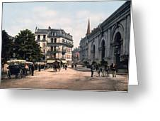 Etablissement Thermal - Aix France Greeting Card by International  Images