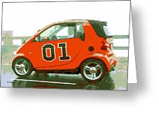 European General Lee Greeting Card by George Pedro