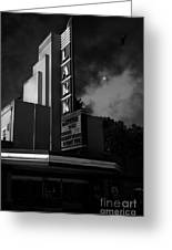 Evening At The Lark - Larkspur California - 5d18484 - Black And White Greeting Card by Wingsdomain Art and Photography