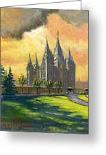 Evening Splendor Greeting Card by Jeff Brimley