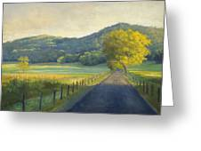 Evening Stroll Greeting Card by Jonathan Howe