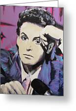 Evolution Of Paul Mccartney Greeting Card by Eric Dee