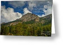 Exfoliation Dome Of Macgregor Mountain Greeting Card by Harry Strharsky