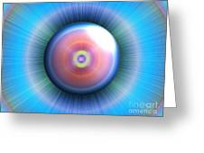 Eye Greeting Card by Nicholas Burningham