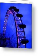 Eye Of London Greeting Card by Roberto Alamino