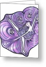 Fabulous Mothers Logo Greeting Card by Rick Hill