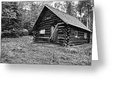 Fabyan Guard Station - White Mountains New Hampshire Usa Greeting Card by Erin Paul Donovan