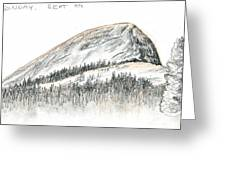 Fairview Dome Greeting Card by Logan Parsons