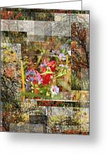 Fall Explosion Greeting Card by Andrew Sliwinski