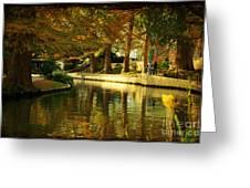 Fall In San Antonio Greeting Card by Iris Greenwell