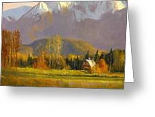 Fall In The Valley Greeting Card by Douglas Girard