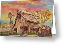 Fall Storms Coming Greeting Card by Connie Valasco