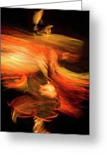 Fancy Dancer Greeting Card by Jeremiah Armstrong