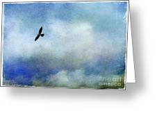 Far Above Greeting Card by Judi Bagwell