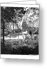 Farm In Illinois Greeting Card by Gary Gackstatter