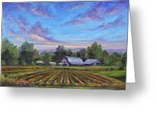 Farm On Glenn Bridge Greeting Card by Jeff Pittman