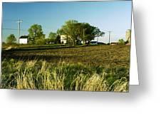 Farm On Nn Greeting Card by Jan Faul