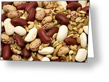 Farro And Beans Greeting Card by Fabrizio Troiani