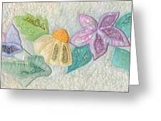 Favourite Lacy Blooms Greeting Card by Denise Hoag