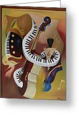 Feel'in The Funk Greeting Card by Brien Cole