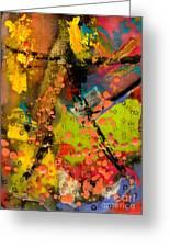Feeling Free Greeting Card by Angela L Walker