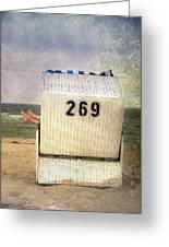 Feet And Beach Chair Greeting Card by Joana Kruse