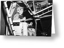 Female Astronaut Training Greeting Card by Nasa