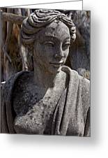 Female Statue Greeting Card by Garry Gay