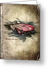 Ferrari Greeting Card by Svetlana Sewell