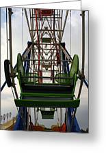 Ferris Wheel Greeting Card by Anne Babineau