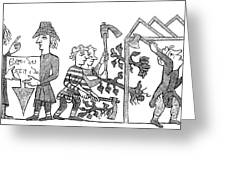 Feudalism: Village Greeting Card by Granger