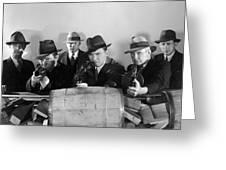 Film Still: Gangsters Greeting Card by Granger
