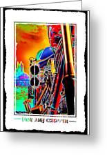 Fine Art Chopper I Greeting Card by Mike McGlothlen