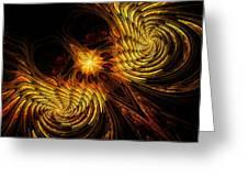 Firebird Greeting Card by John Edwards