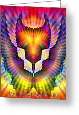 Firebird Greeting Card by Visual Artist  Frank Bonilla