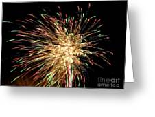 Firework Greeting Card by Meandering Photography