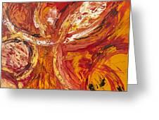 Firework Greeting Card by Thomas Kleiner