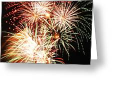 Fireworks 1569 Greeting Card by Michael Peychich